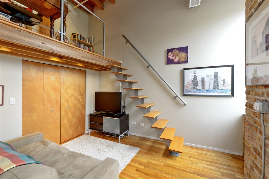 Real Estate Photography - 417 S. Jefferson Street, Unit 504B, Chicago, IL, 60607 - 3rd Bedroom