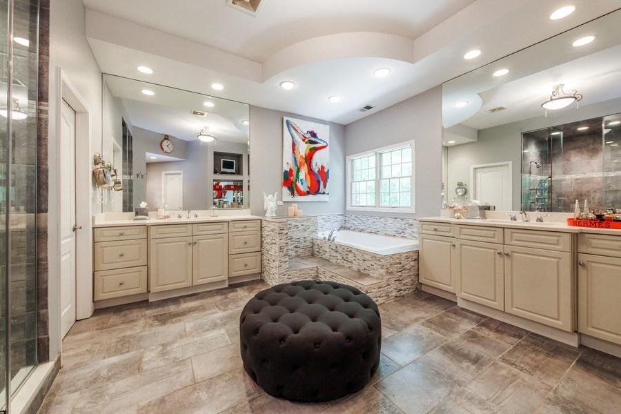 Real Estate Photography - 1507 Sunset Road, Highland Park, IL, 60035 - Master Bathroom