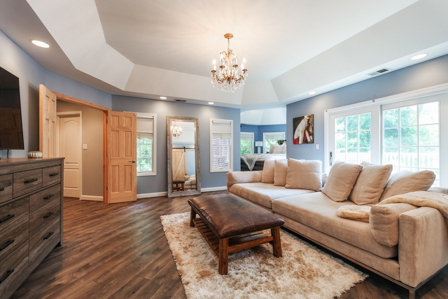 Real Estate Photography - 1507 Sunset Road, Highland Park, IL, 60035 - Master Bedroom
