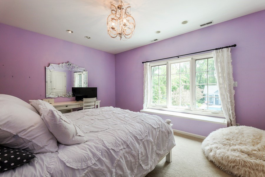 Real Estate Photography - 1507 Sunset Road, Highland Park, IL, 60035 - 3rd Bedroom