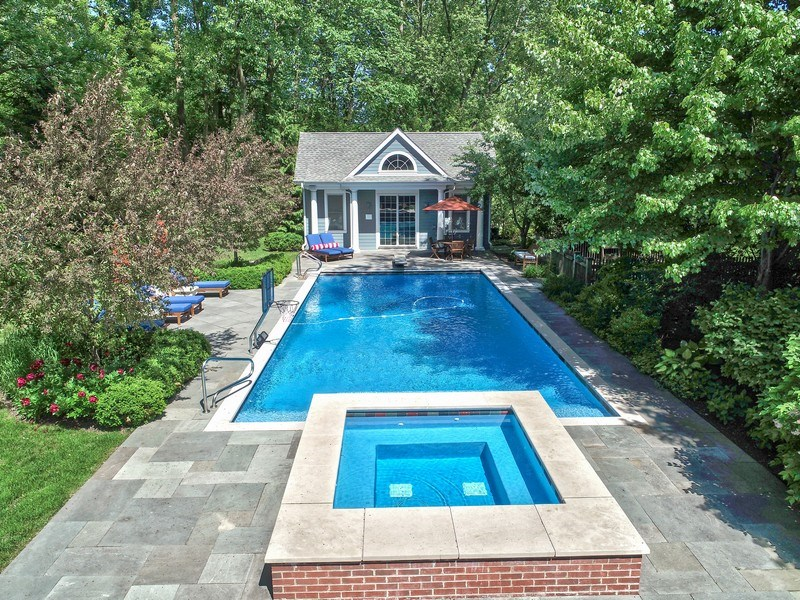Real Estate Photography - 1507 Sunset Road, Highland Park, IL, 60035 - Aerial View