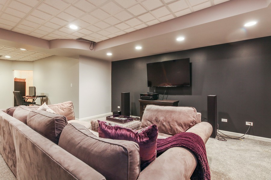 Real Estate Photography - 1507 Sunset Road, Highland Park, IL, 60035 - Recreational Room