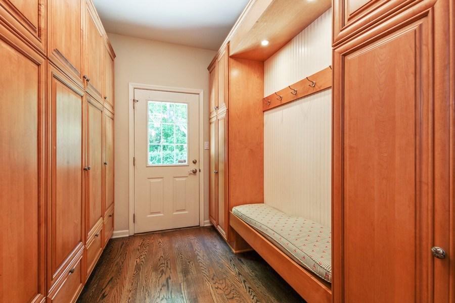 Real Estate Photography - 1507 Sunset Road, Highland Park, IL, 60035 - Mudroom