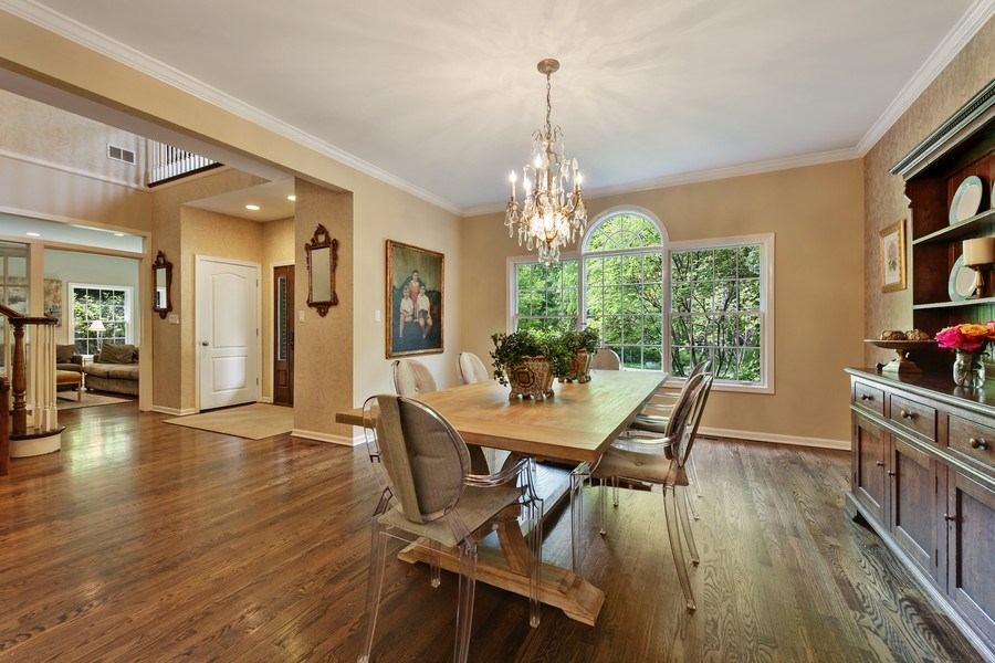 Real Estate Photography - 1507 Sunset Road, Highland Park, IL, 60035 - Dining Room