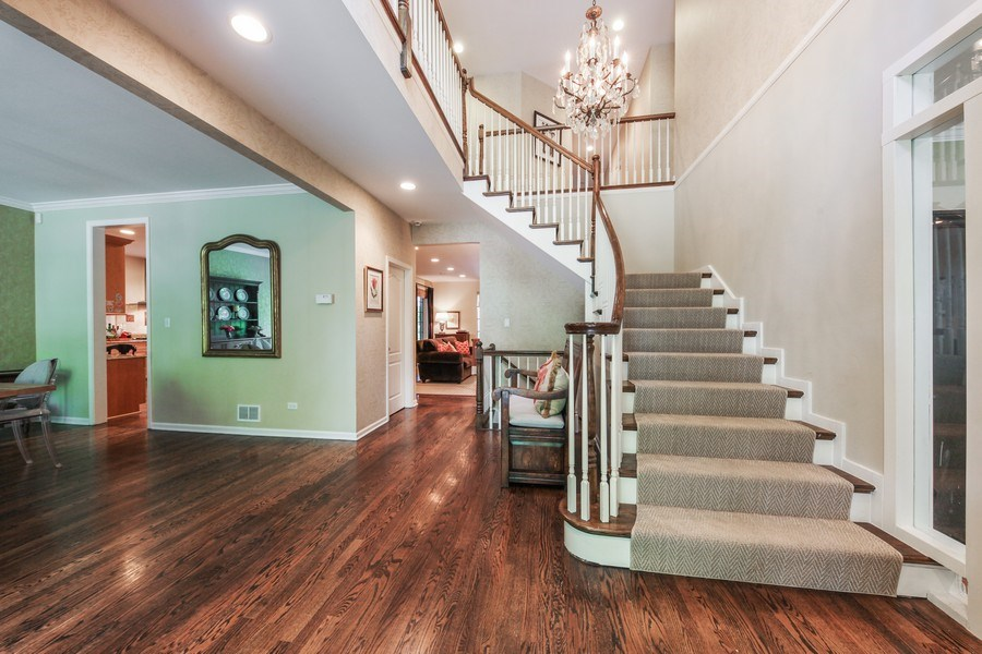 Real Estate Photography - 1507 Sunset Road, Highland Park, IL, 60035 - Foyer