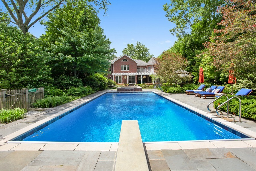 Real Estate Photography - 1507 Sunset Road, Highland Park, IL, 60035 - Pool