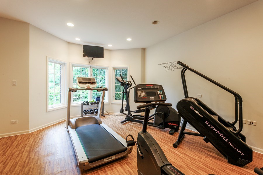 Real Estate Photography - 1507 Sunset Road, Highland Park, IL, 60035 - Office