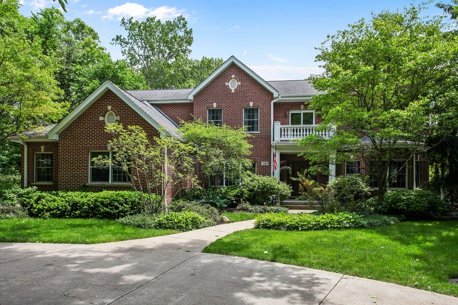 Real Estate Photography - 1507 Sunset Road, Highland Park, IL, 60035 - Front View