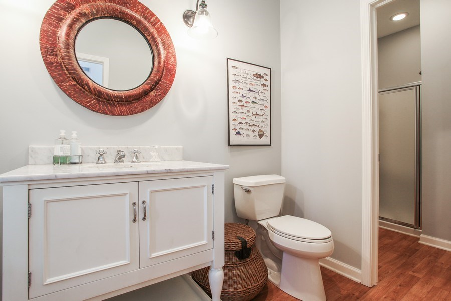 Real Estate Photography - 1507 Sunset Road, Highland Park, IL, 60035 - Bathroom