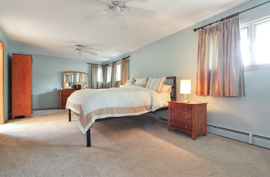 Real Estate Photography - 4500 W. Rosemont Avenue, Chicago, IL, 60646 - Master Bedroom