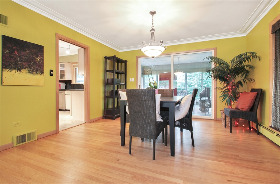 Real Estate Photography - 4500 W. Rosemont Avenue, Chicago, IL, 60646 - Dining Room