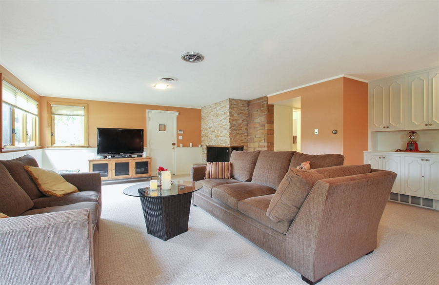 Real Estate Photography - 4500 W. Rosemont Avenue, Chicago, IL, 60646 - Family Room