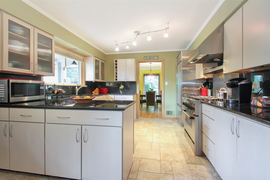 Real Estate Photography - 4500 W. Rosemont Avenue, Chicago, IL, 60646 - Kitchen