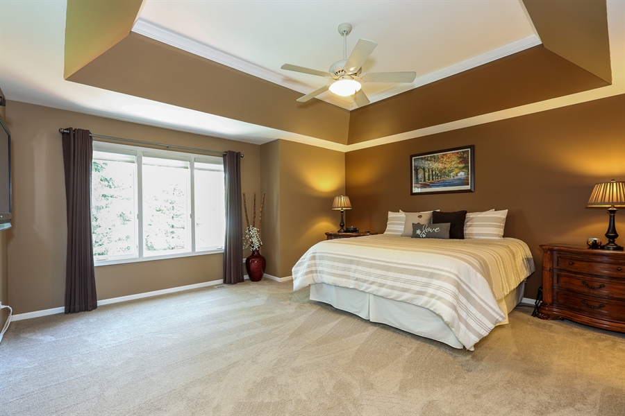 Real Estate Photography - 2S428 Chaucer Court, Glen Ellyn, IL, 60137 - Master Bedroom