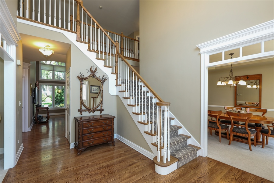 Real Estate Photography - 2S428 Chaucer Court, Glen Ellyn, IL, 60137 - Foyer