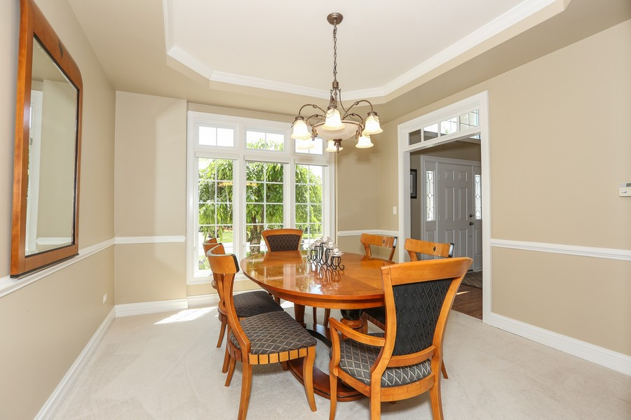 Real Estate Photography - 2S428 Chaucer Court, Glen Ellyn, IL, 60137 - Dining Room