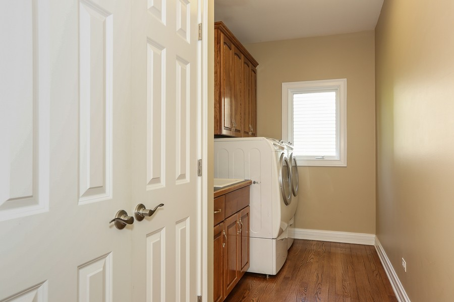 Real Estate Photography - 2S428 Chaucer Court, Glen Ellyn, IL, 60137 - Laundry Room