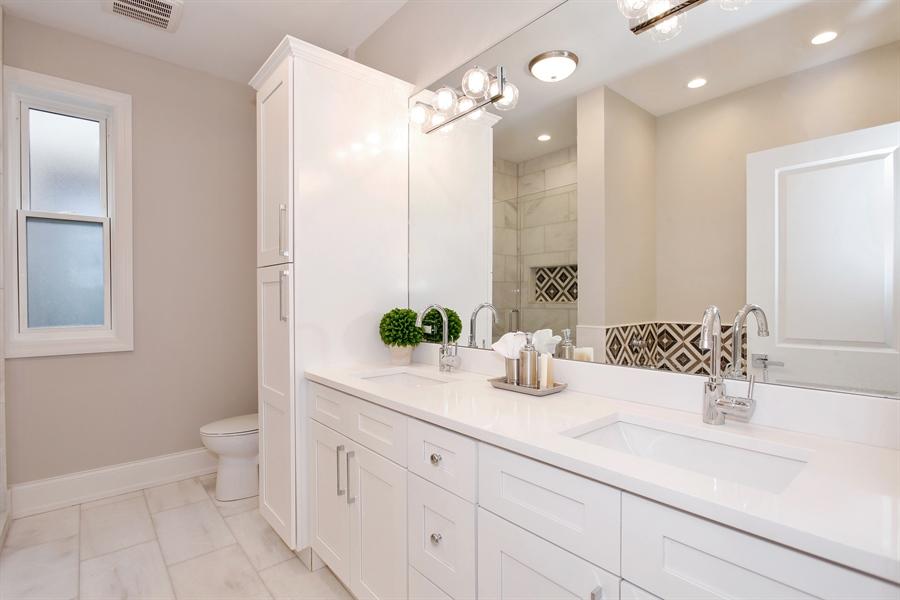Real Estate Photography - 6423 S. Ingleside Avenue, Chicago, IL, 60637 - Master Bathroom