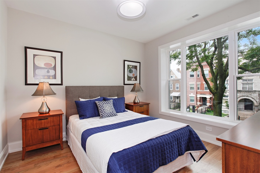 Real Estate Photography - 6423 S. Ingleside Avenue, Chicago, IL, 60637 - 2nd Bedroom