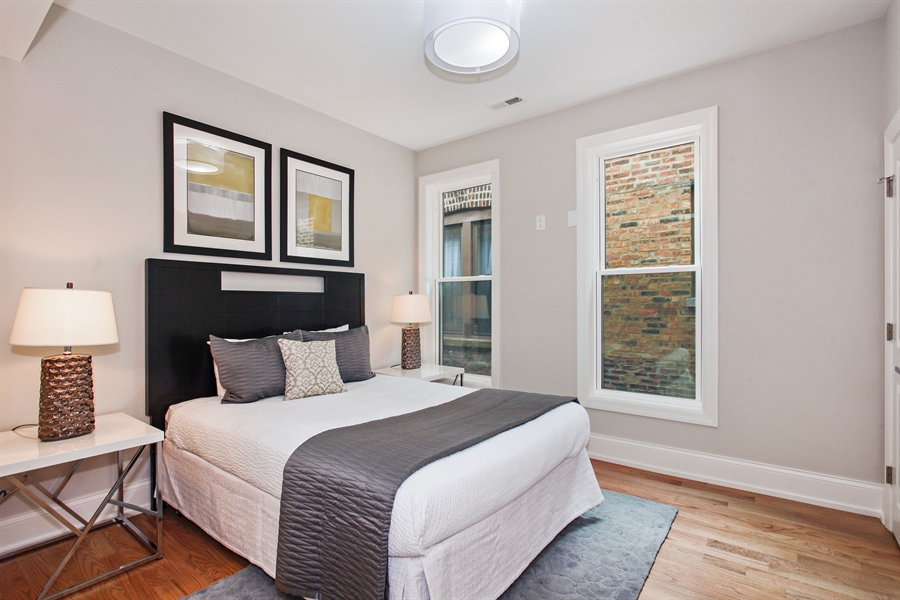 Real Estate Photography - 6423 S. Ingleside Avenue, Chicago, IL, 60637 - 3rd Bedroom