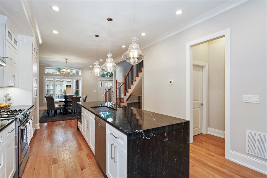 Real Estate Photography - 6423 S. Ingleside Avenue, Chicago, IL, 60637 - Kitchen