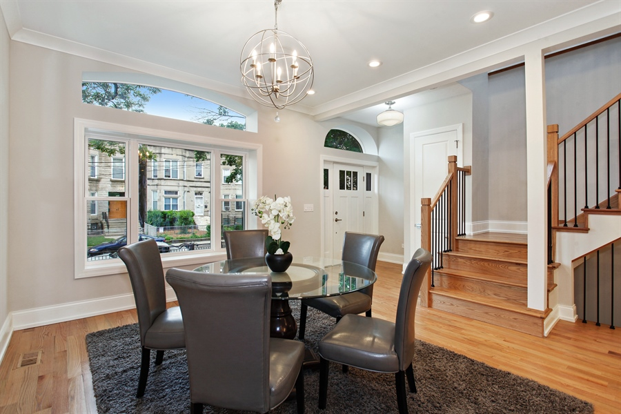 Real Estate Photography - 6423 S. Ingleside Avenue, Chicago, IL, 60637 - Dining Area