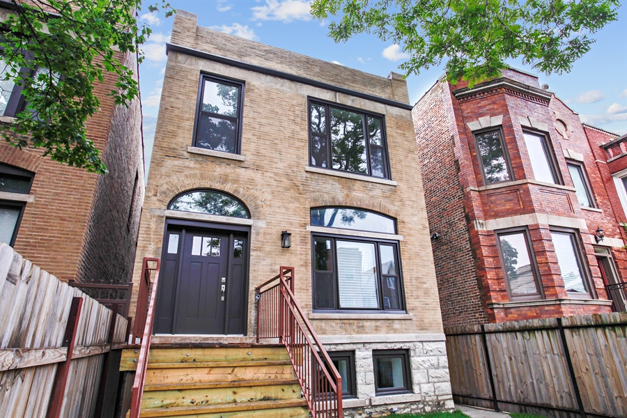 Real Estate Photography - 6423 S. Ingleside Avenue, Chicago, IL, 60637 - Front View