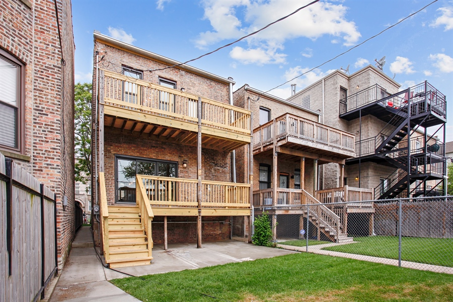 Real Estate Photography - 6423 S. Ingleside Avenue, Chicago, IL, 60637 - Rear View