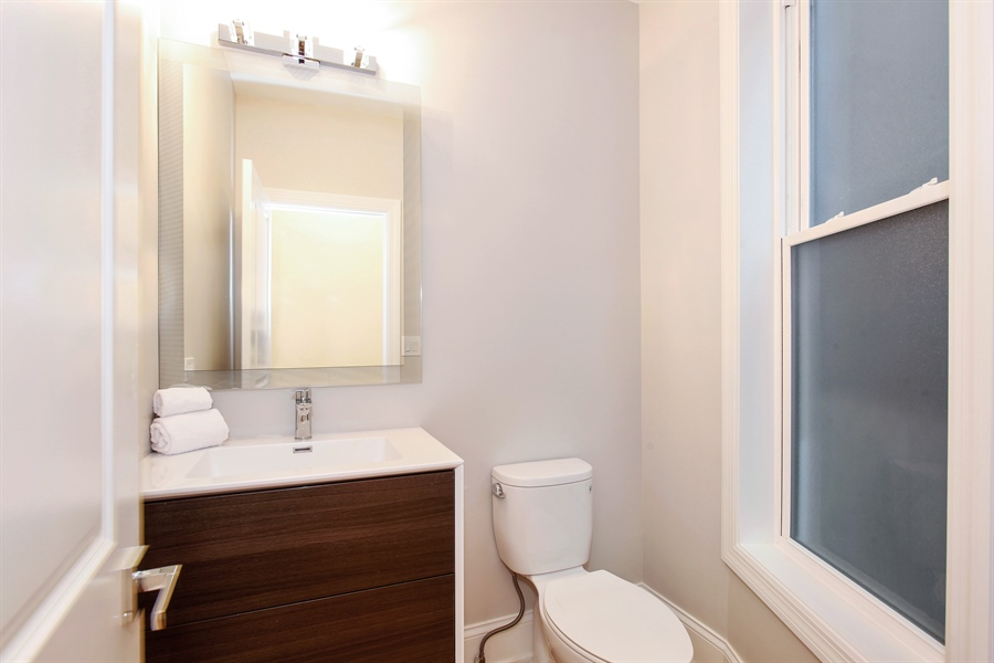 Real Estate Photography - 6423 S. Ingleside Avenue, Chicago, IL, 60637 - Half Bath