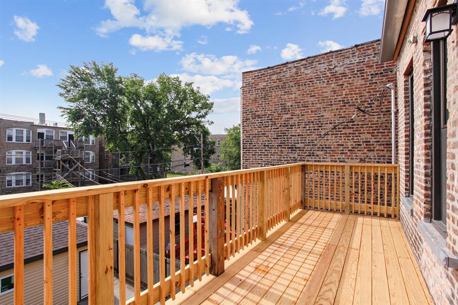 Real Estate Photography - 6423 S. Ingleside Avenue, Chicago, IL, 60637 - Balcony