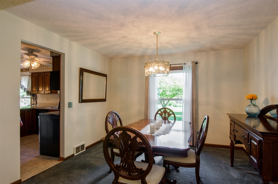 Real Estate Photography - 6702 Meadow Drive, Crystal Lake, IL, 60012 - Dining Room
