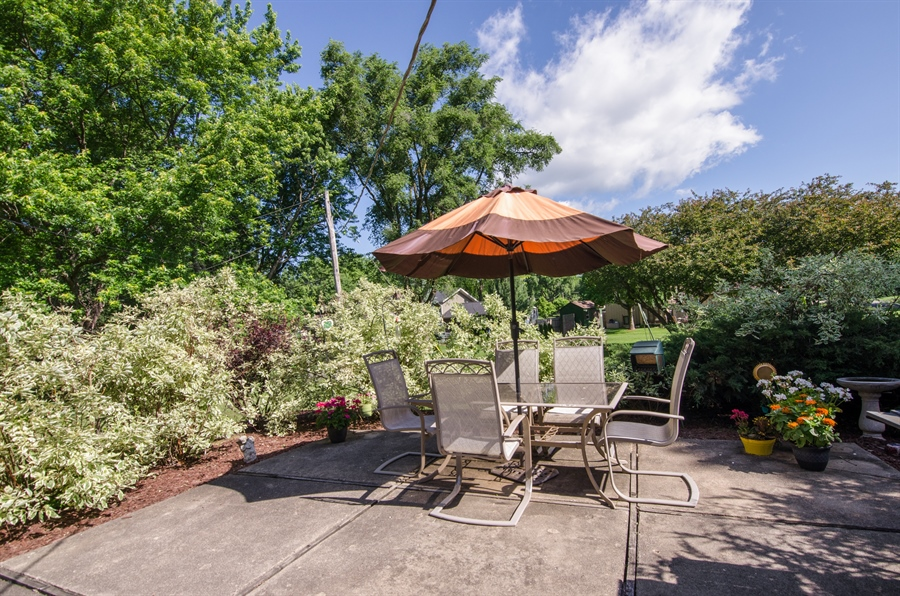 Real Estate Photography - 6702 Meadow Drive, Crystal Lake, IL, 60012 - Back Yard