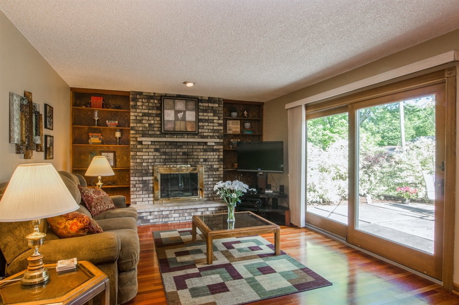 Real Estate Photography - 6702 Meadow Drive, Crystal Lake, IL, 60012 - Family Room