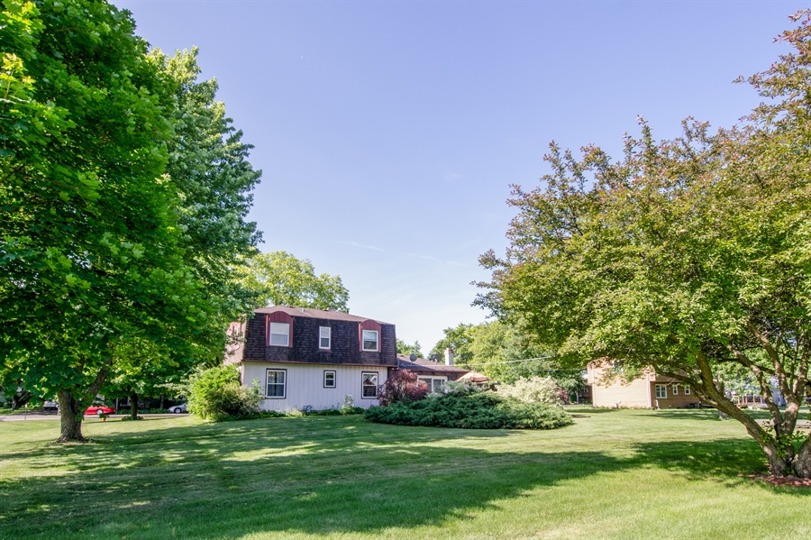 Real Estate Photography - 6702 Meadow Drive, Crystal Lake, IL, 60012 - Rear View