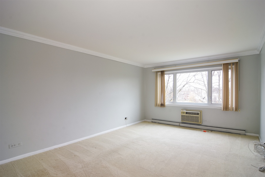 Real Estate Photography - 2630 E. Bel Aire Drive, Unit 303, Arlington Heights, IL, 60004 - Master Bedroom