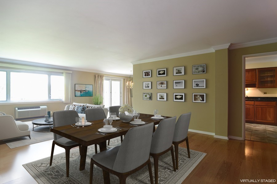 Real Estate Photography - 2630 E. Bel Aire Drive, Unit 303, Arlington Heights, IL, 60004 - Great Room