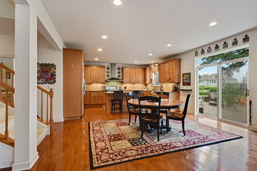 Real Estate Photography - 2500 Stonybrook Street, Wauconda, IL, 60084 - Kitchen / Breakfast Room