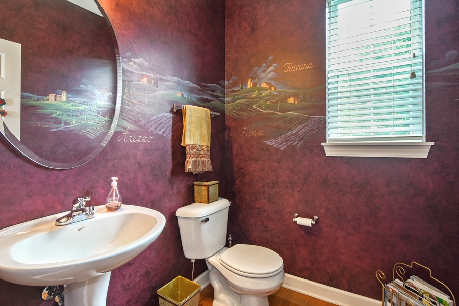 Real Estate Photography - 2500 Stonybrook Street, Wauconda, IL, 60084 - Powder Room