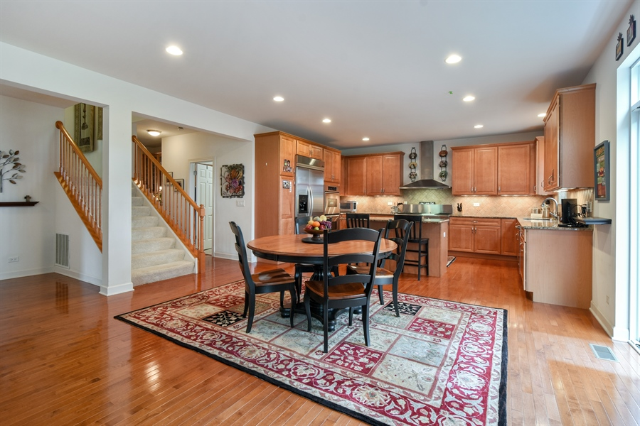 Real Estate Photography - 2500 Stonybrook Street, Wauconda, IL, 60084 - Breakfast Area