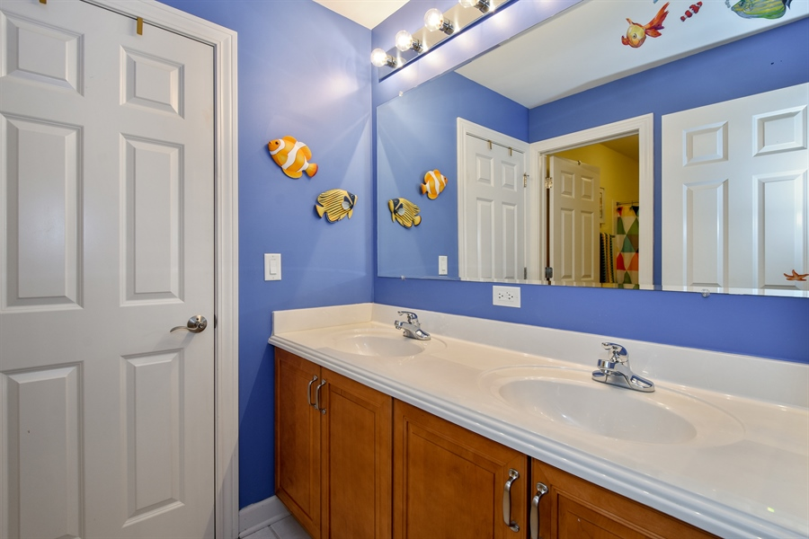 Real Estate Photography - 2500 Stonybrook Street, Wauconda, IL, 60084 - 2nd Bathroom