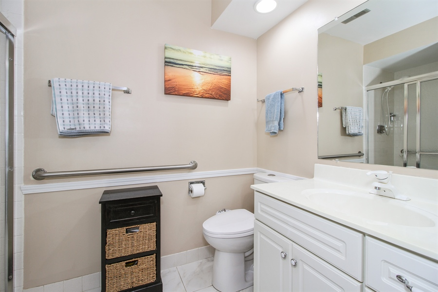 Real Estate Photography - 15726 Orlan Brook Drive, Unit 196, Orland Park, IL, 60462 - Master Bathroom
