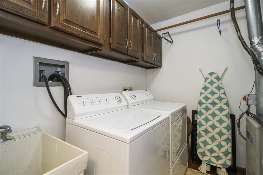 Real Estate Photography - 15726 Orlan Brook Drive, Unit 196, Orland Park, IL, 60462 - Laundry Room