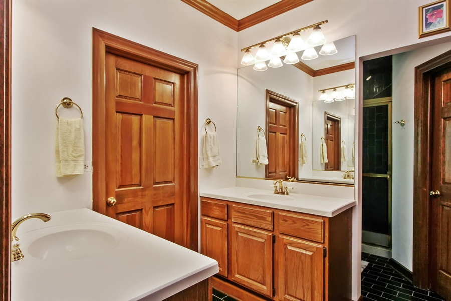 Real Estate Photography - 26073 W. Laurel Court, Wauconda, IL, 60084 - Master Bathroom