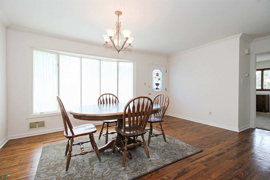 Real Estate Photography - 8536 Leamington Avenue, Burbank, IL, 60459 - Dining Room
