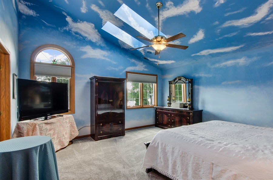 Real Estate Photography - 353 Mildred Avenue, Cary, IL, 60013 - Master Bedroom