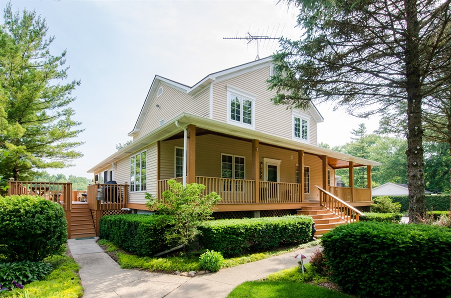Real Estate Photography - 353 Mildred Avenue, Cary, IL, 60013 - Rear View