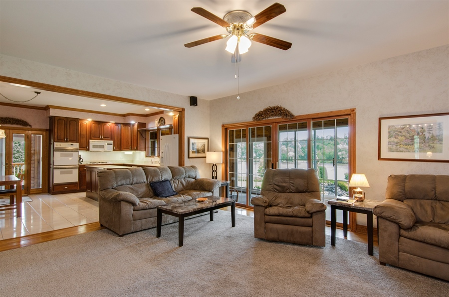 Real Estate Photography - 353 Mildred Avenue, Cary, IL, 60013 - Kitchen / Living Room