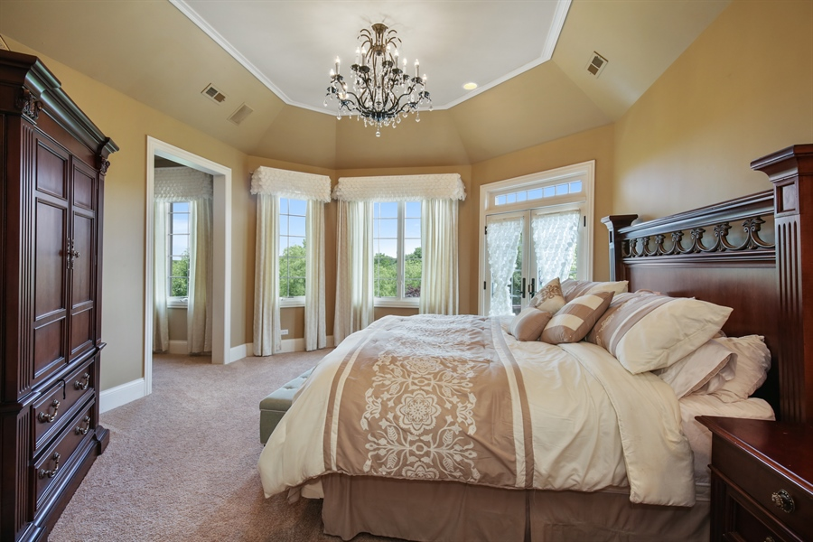 Real Estate Photography - 3602 Grandview, St Charles, IL, 60174 - Master Bedroom