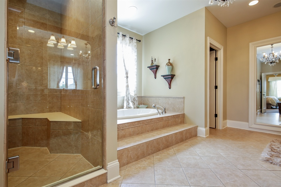 Real Estate Photography - 3602 Grandview, St Charles, IL, 60174 - Master Bathroom