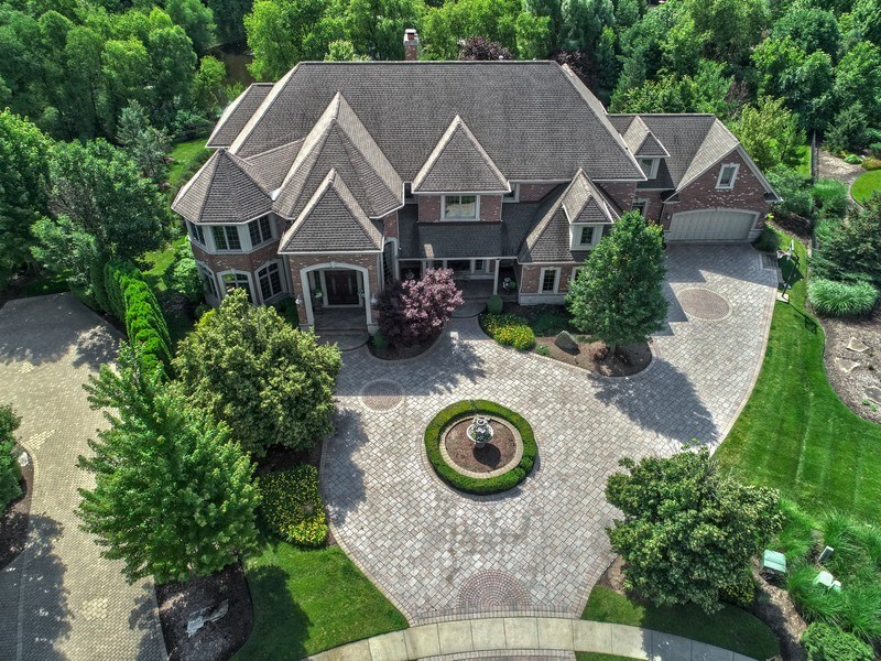 Real Estate Photography - 3602 Grandview, St Charles, IL, 60174 - Aerial View